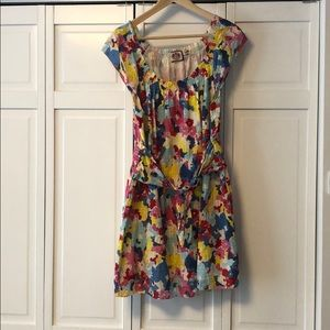 Floral juicy couture dress